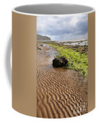 Sand Patterns On Robin Hoods Bay Beach Coffee Mug