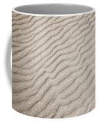 Sand Ripples Natural Abstract Coffee Mug