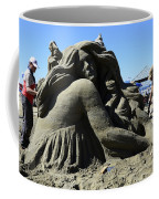 Sand Sculpture 1 Coffee Mug by Bob Christopher