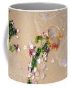 Sand Sea And Shells Coffee Mug