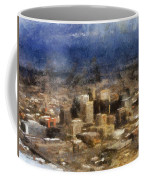 Sand Storm Approaching Phoenix Photo Art Coffee Mug
