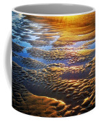 Sand Textures At Sunset Coffee Mug
