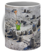 Sandcastle Squatters Coffee Mug by Betsy Knapp
