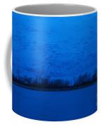 Sandhill Crane Blue Hour Coffee Mug