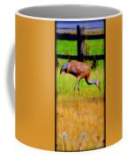 Sandhill Crane II Coffee Mug