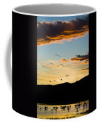Sandhill Cranes In New Mexico Coffee Mug