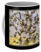 Sandhill Cranes Startled Coffee Mug