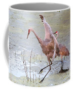 Sandhill Leap Of Faith Coffee Mug