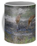 Sandhill Stork Coffee Mug