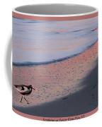 Sandpiper At Sunset Print Coffee Mug