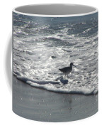 Sandpiper In The Surf Coffee Mug