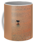 Sandpiper On Shoreline Coffee Mug