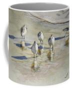 Sandpipers 2 Watercolor 5-13-12 Julianne Felton Coffee Mug