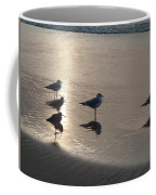Sandpipers And Seagulls Coffee Mug