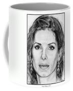 Sandra Bullock In 2005 Coffee Mug by J McCombie