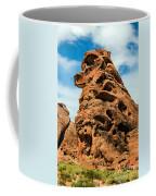 Sandstone Husky Coffee Mug