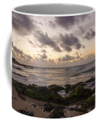 Sandy Beach Sunrise 10 - Oahu Hawaii Coffee Mug