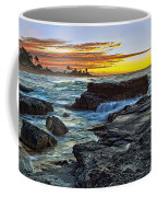 Sandy Beach Sunrise Coffee Mug