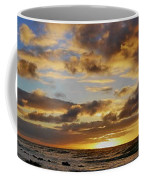 Sandy Beach Sunrise Coffee Mug