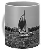 Sandy Hook Sailing II Coffee Mug
