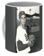 Sandy Koufax Photo Portrait Coffee Mug