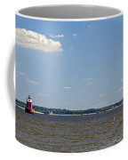 Sandy Pt Shoal Lighthouse - Pano Coffee Mug