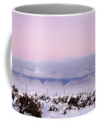 Sangre De Cristo Range With Clouds Coffee Mug