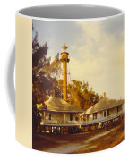 Sanibel Lighthouse Landscape Coffee Mug