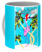Santa Baby Flamingo Coffee Mug