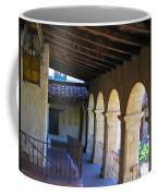 Santa Barbara Mission Cloister Coffee Mug