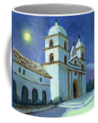 Santa Barbara Mission Moonlight Coffee Mug