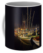 Santa Barbata Harbor Color Coffee Mug