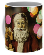 Santa Bokeh 2 Coffee Mug