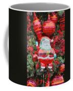 Santa Claus Balloon Coffee Mug