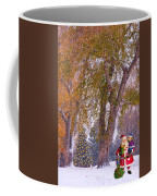 Santa Claus In The Snow Coffee Mug