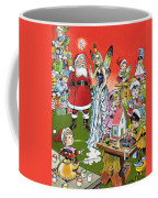 Santa Claus Toy Factory Coffee Mug by Jesus Blasco