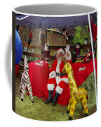 Santa Clausewith The Animals Coffee Mug