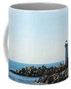 Santa Cruz California Lighthouse Coffee Mug