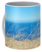 Santa Cruz Island Sea Of Grass Coffee Mug