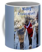 Santa Dog-2 Coffee Mug