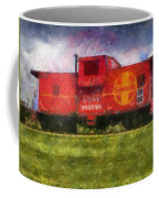 Santa Fe Caboose Photo Art 02 Coffee Mug