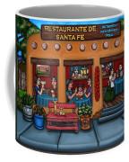 Santa Fe Restaurant Coffee Mug by Victoria De Almeida