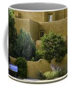 Santa Fe Woman With Umbrella Coffee Mug