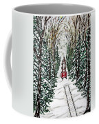 Santa Flying To Your House Coffee Mug