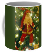 Santa Got Hung Up Coffee Mug