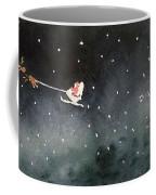 Santa Is Coming Coffee Mug