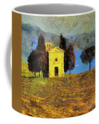 Santa Maria Di Vitaleta Coffee Mug