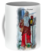Santa Merry Christmas Photo Art 02 Coffee Mug