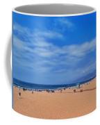 Santa Monica Beach California Coffee Mug