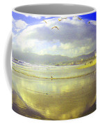 Santa Monica Beach Coffee Mug